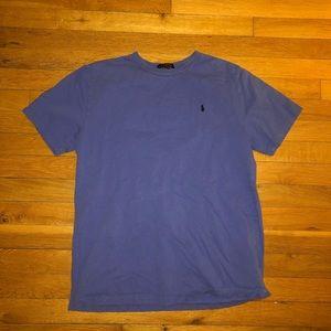 polo blue t-shirt